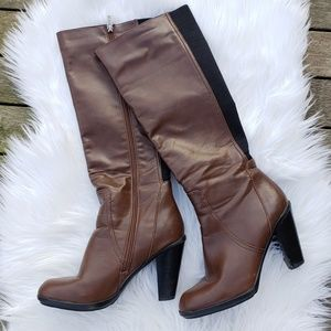 Kenneth Cole Mid Calf Heeled Boots